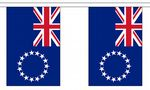 COOK ISLANDS BUNTING - 3 METRES 10 FLAGS
